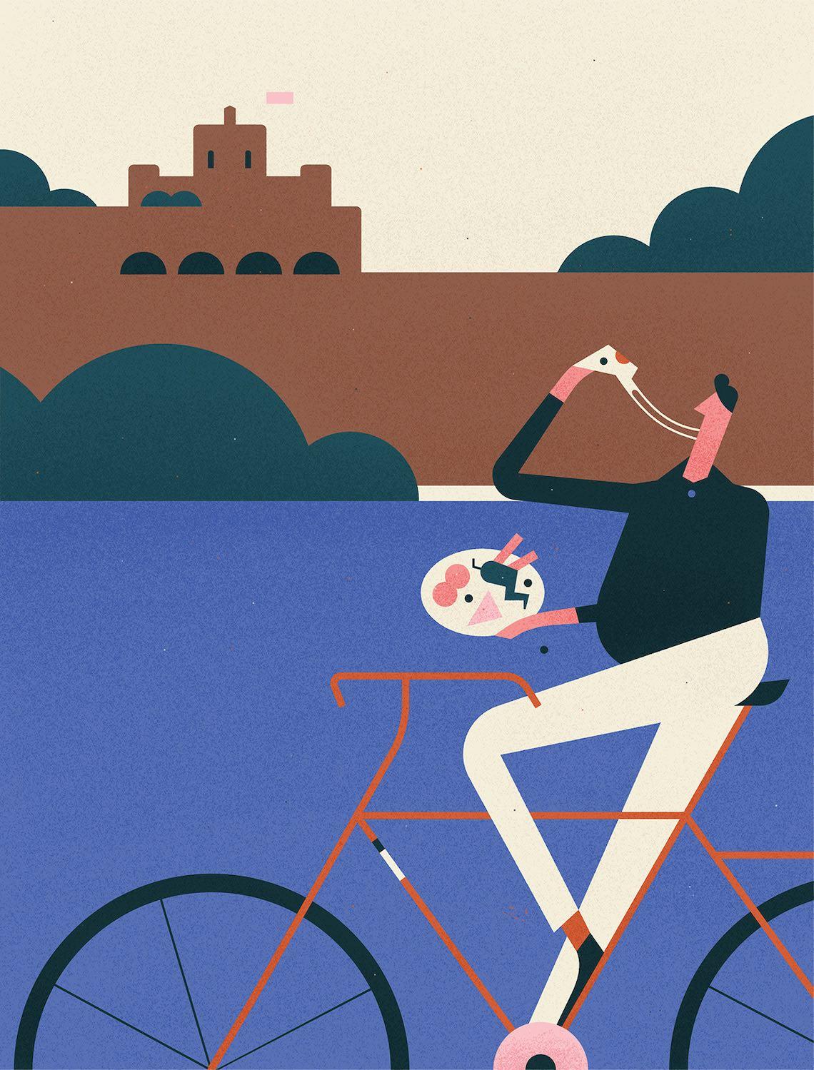 Fran Labuschagne illustrations_Easyjet Traveller_3