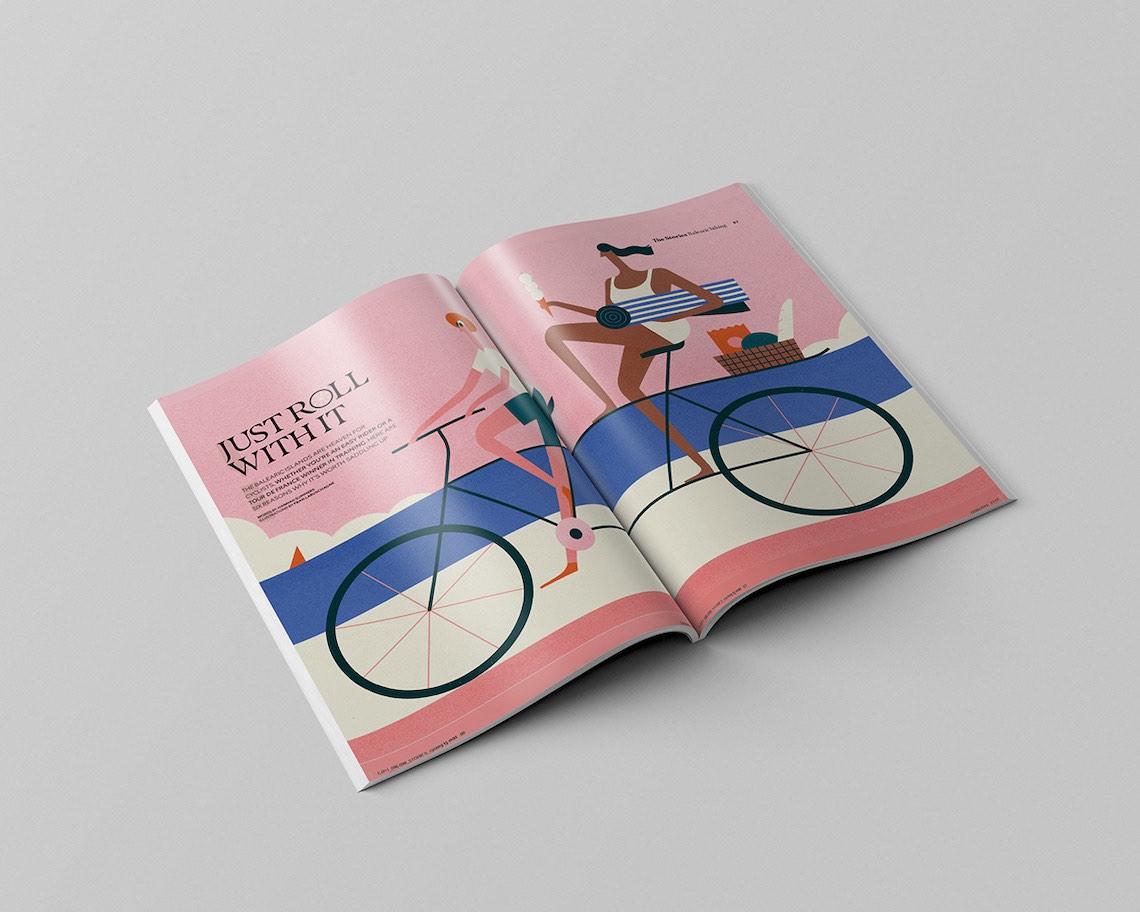Fran Labuschagne illustrations_Easyjet Traveller_8