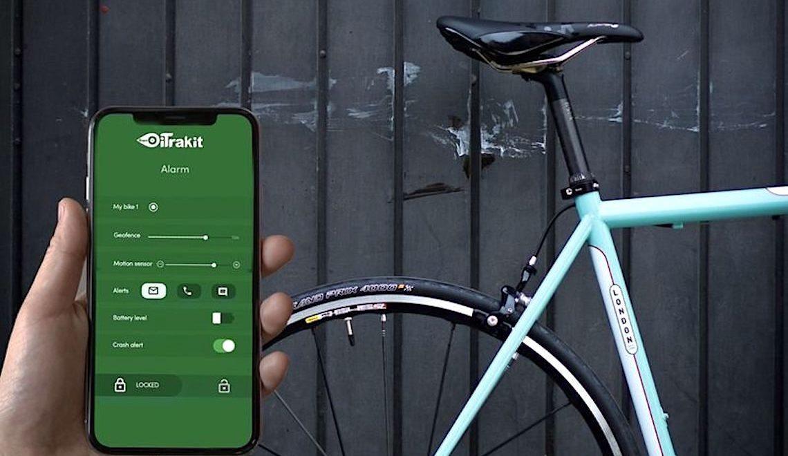 iTrakit GPS bike traker. Si nasconde nel telaio