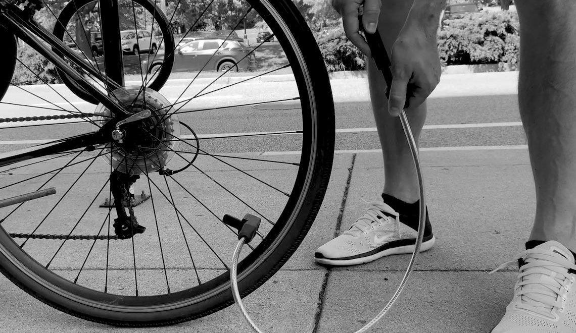 AirLock. Pompa e lucchetto bici All-in-One