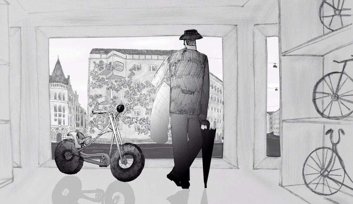 Hi, Wanna Ride! Animazione di Oksana Bronevitckaia
