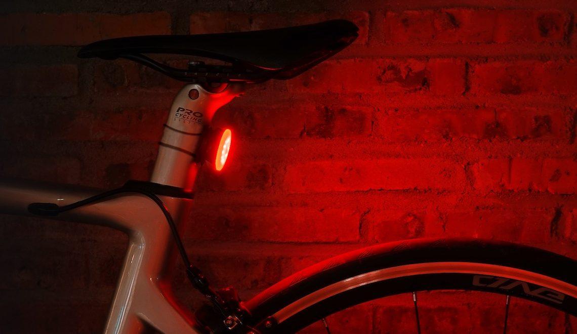 Raz Pro bike tail light. Sicuri in bici, giorno e notte