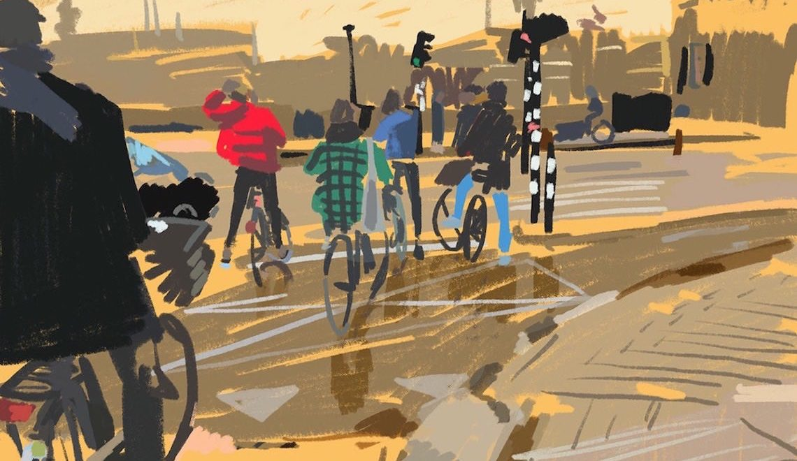 Cyclist_of_Amsterdam by Monique Wijibrands illustrations_E