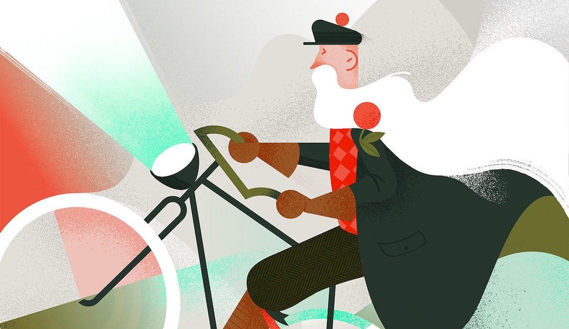 Mara Drozdova. Illustrazioni e bici dalla Lettonia