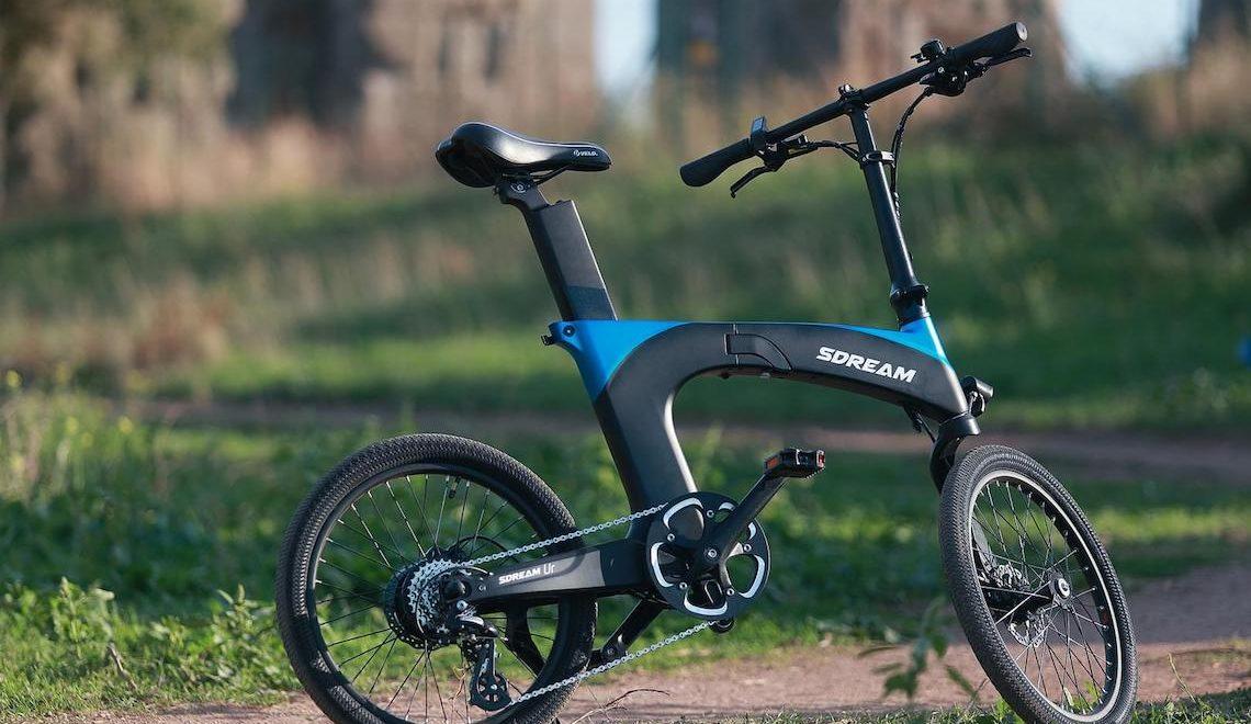 SDREAM Ur. La e-bike pieghevole a sospensione centrale