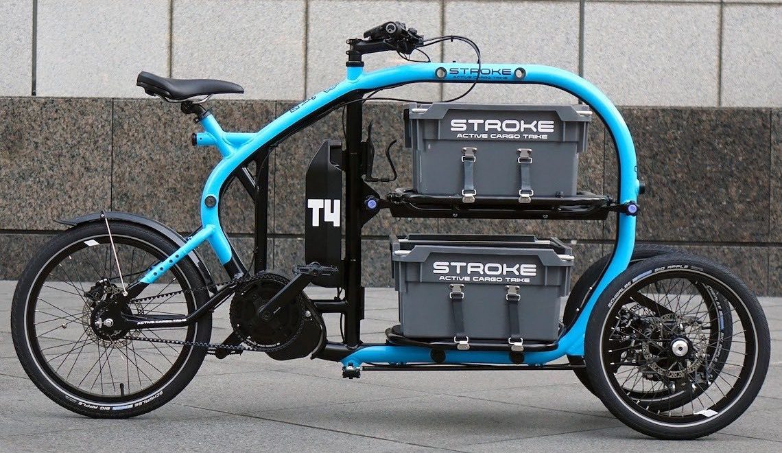STROKE Active Cargo Trike. Made in Japan