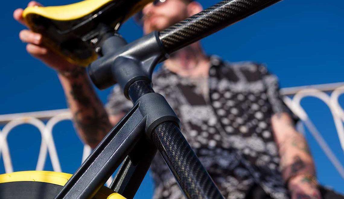 Cyclic Urban Bikes. In carbonio, leggera e modulare