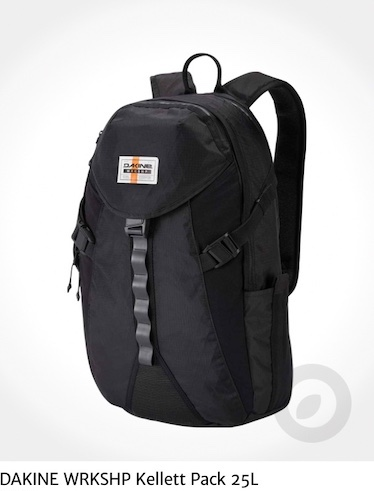 DAKINE WRKSHP-Kellett Pack 25L_urbancycling_it