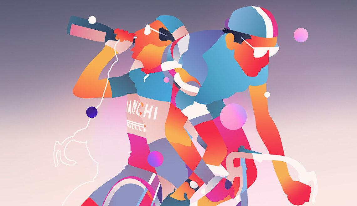 Fietsplezier. L'arte di Bram Vanhaeren e il ciclismo