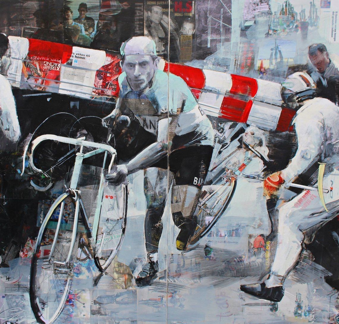 Miguel Soro cycling _art_painting_2