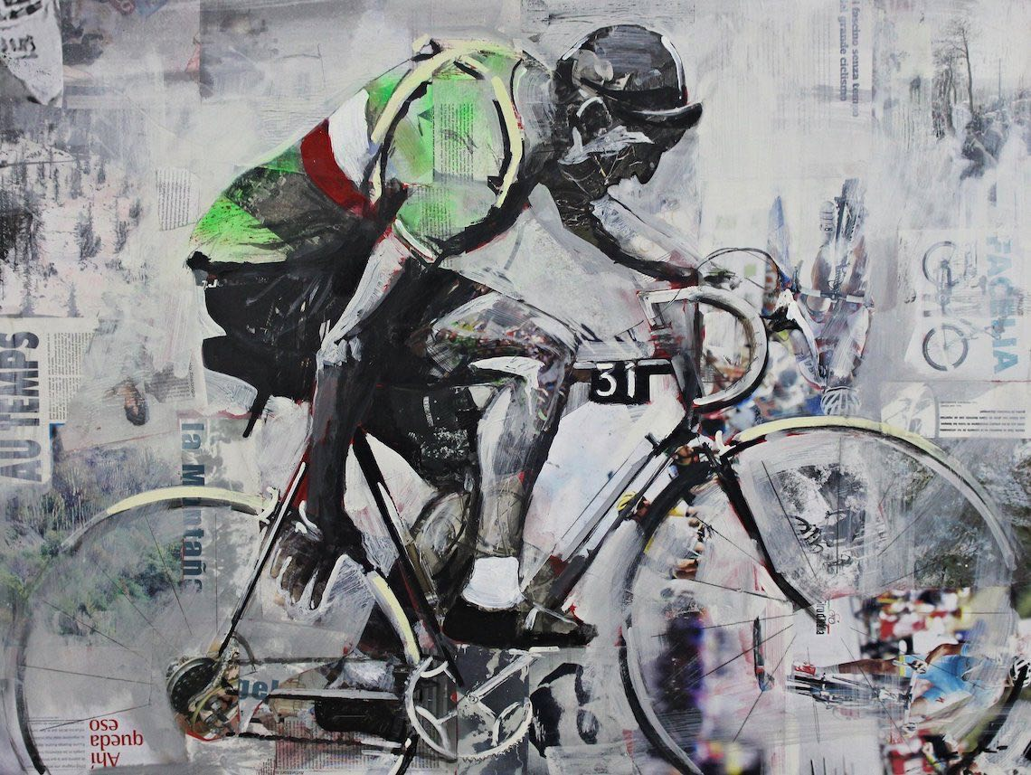 Miguel Soro cycling _art_painting_4
