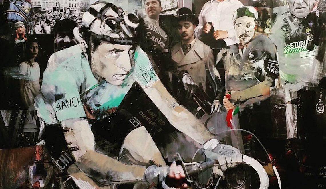 Miguel Soro. I miti del ciclismo diventano arte