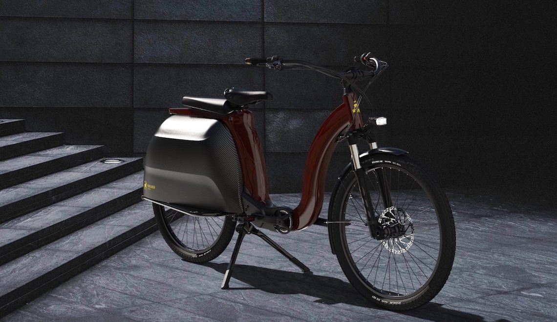 Civilized Cycles Model 1. La e-bike con le borse integrate