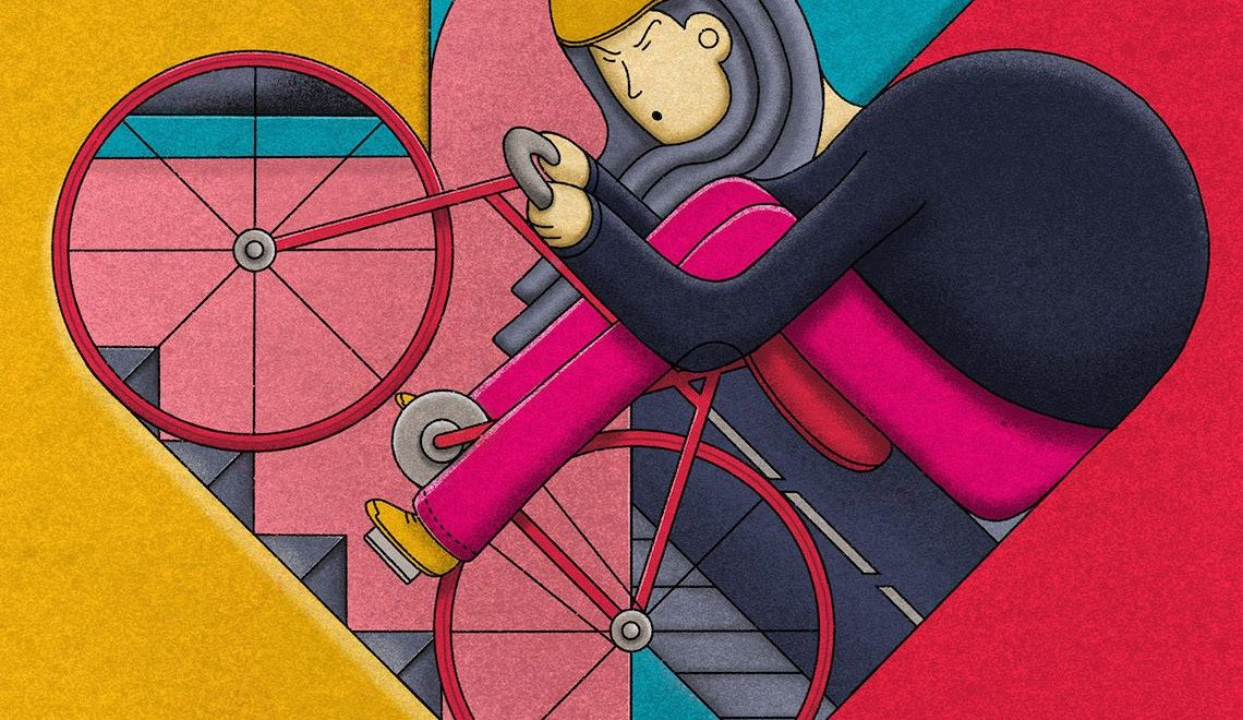 Bicycles. Le originali illustrazioni di John Battalgazi