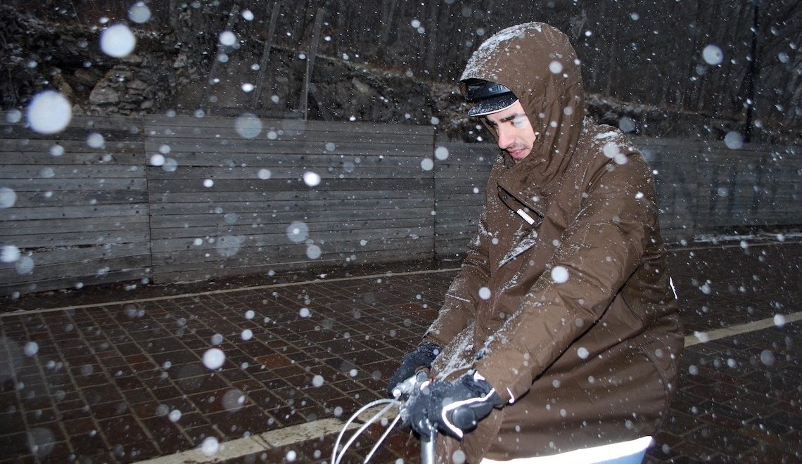 Con Magic Parka, sempre in bici anche d'inverno