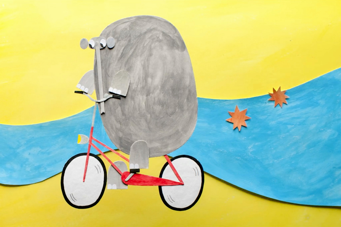 The Elephant and The Bicycle by Olesya Shchukina_1