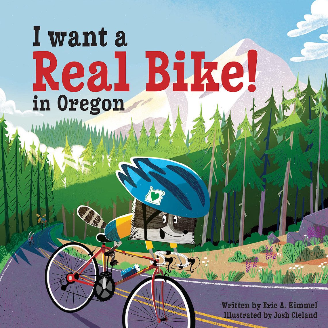 I Want a Real Bike in Oregon_Josh Cleland_illustration