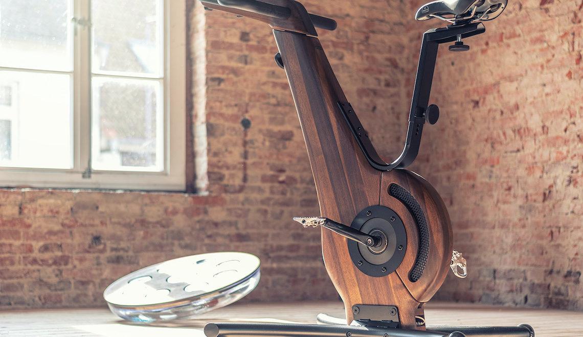 NOHrD Bike Indoor Cycle. In legno massello e acciaio