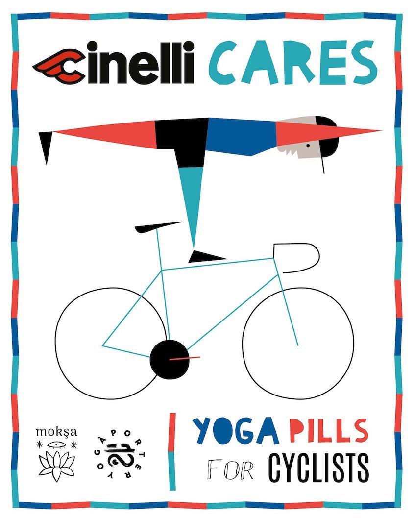 Cinelli Cares_Yoga à Porter_Andrea_Aquani_illustration_2