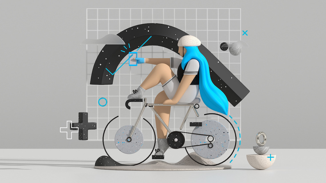 Fietssport_The illustration style_3