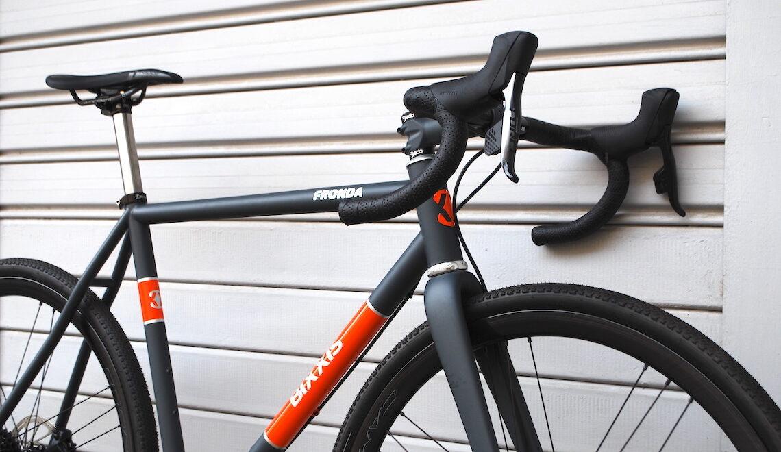 Bixxis Fronda. La gravel bike di Doriano De Rosa