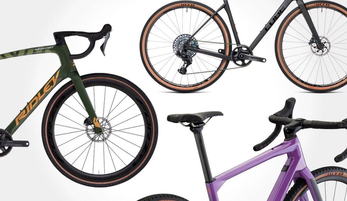 Bici gravel. Nuove tendenze 2021. BMC, Cube, Ridley