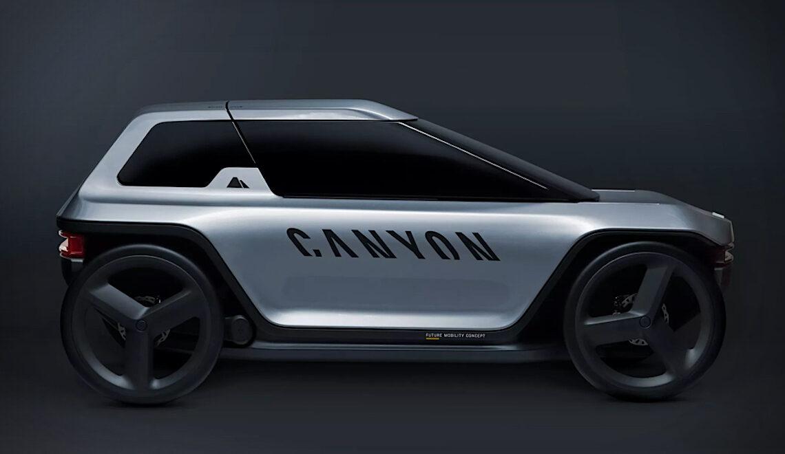 Canyon Future Mobility Concept. La e-bike che verrà