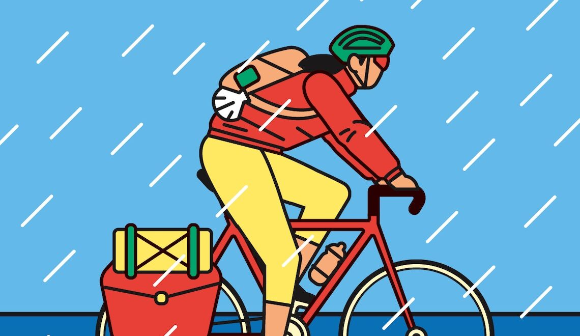 Long Distance Cycling. Illustrazioni di Enric Adell