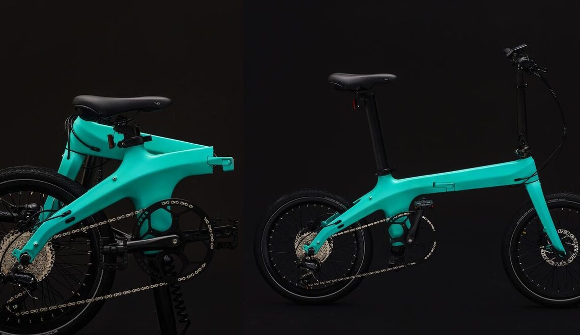 Morfuns Éole. La nuova e-bike pieghevole in carbonio