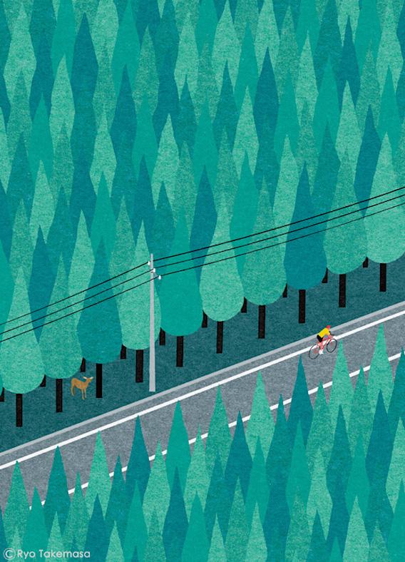 Ryo Takemasa_bicycle_illustrations_11