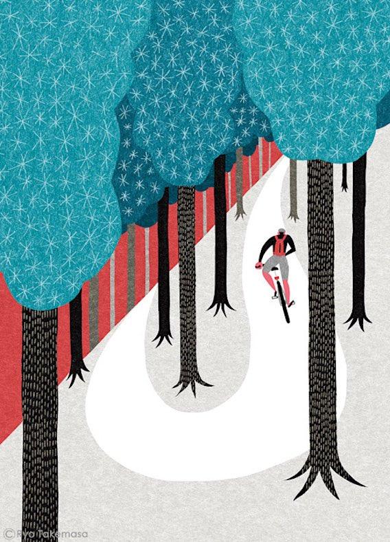 Ryo Takemasa_bicycle_illustrations_13