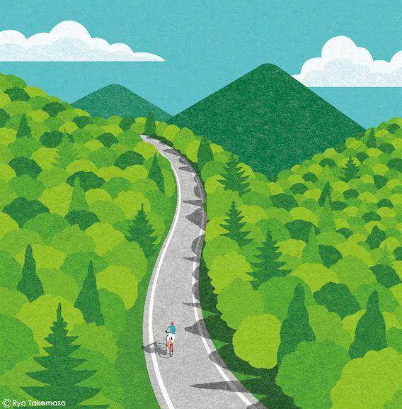 Ryo Takemasa_bicycle_illustrations_3