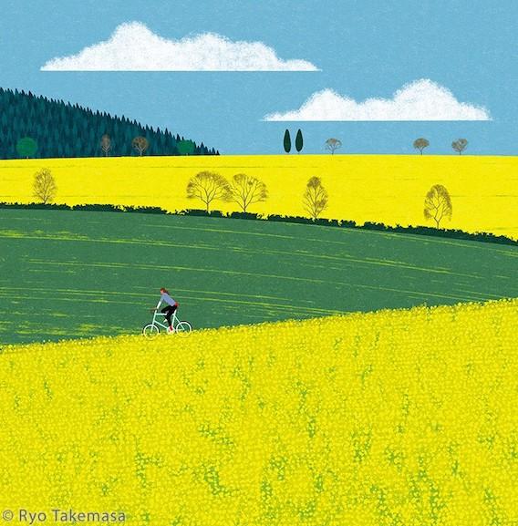 Ryo Takemasa_bicycle_illustrations_5