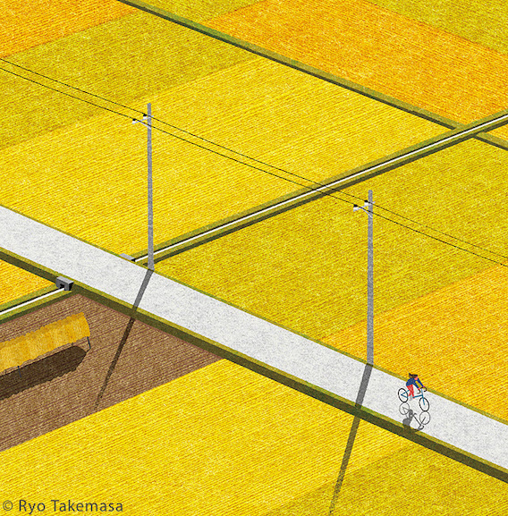 Ryo Takemasa_bicycle_illustrations_6