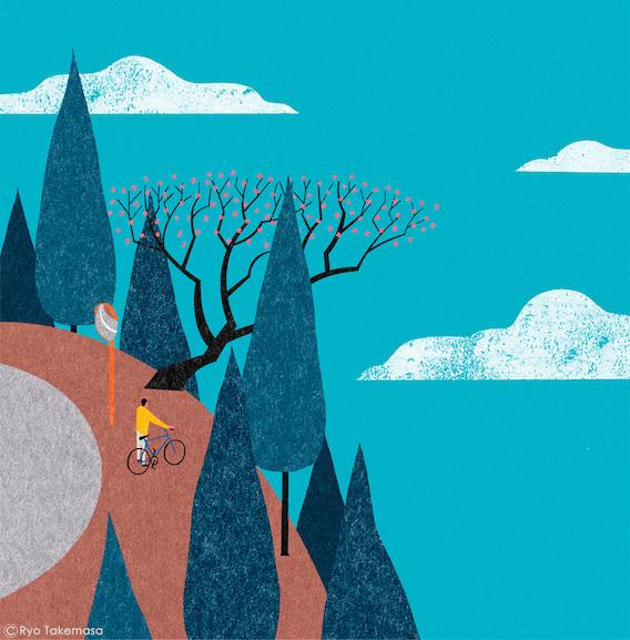 Ryo Takemasa_bicycle_illustrations_7