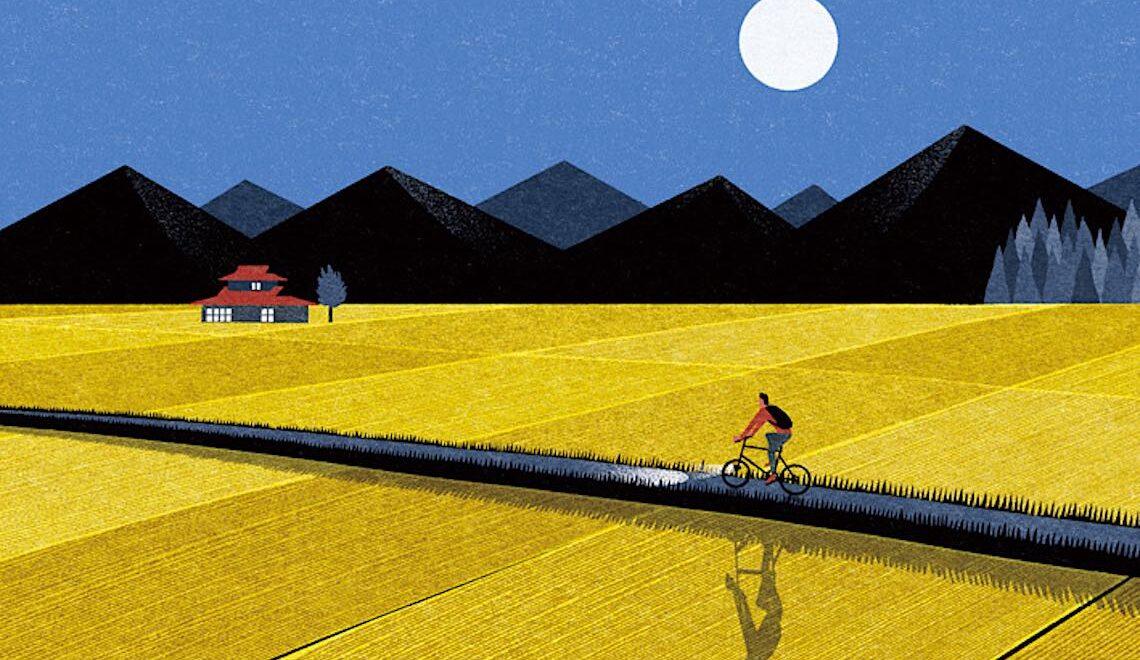 Ryo Takemasa. Illustrazioni e bici dal Giappone
