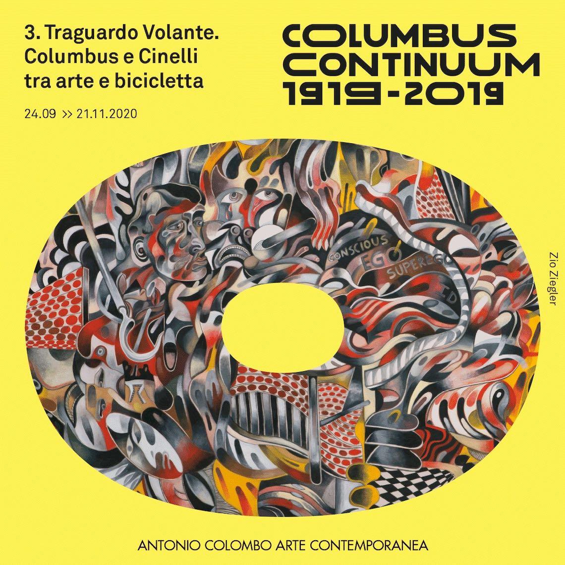 Traguardo Volante_Columbus e Cinelli_tra _arte e bicicletta