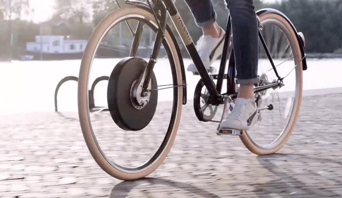 Wheel-E. Trasforma ogni bicicletta in e-bike