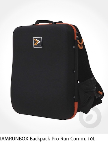 IAMRUNBOX Backpack Pro Run Comm. 10L_Orange_urbancycling_it