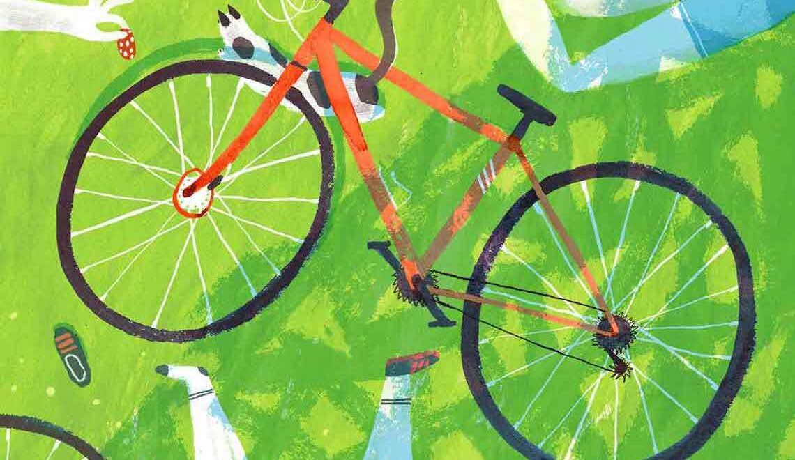 Le illustrazioni di Olga Shtonda. Bike Year