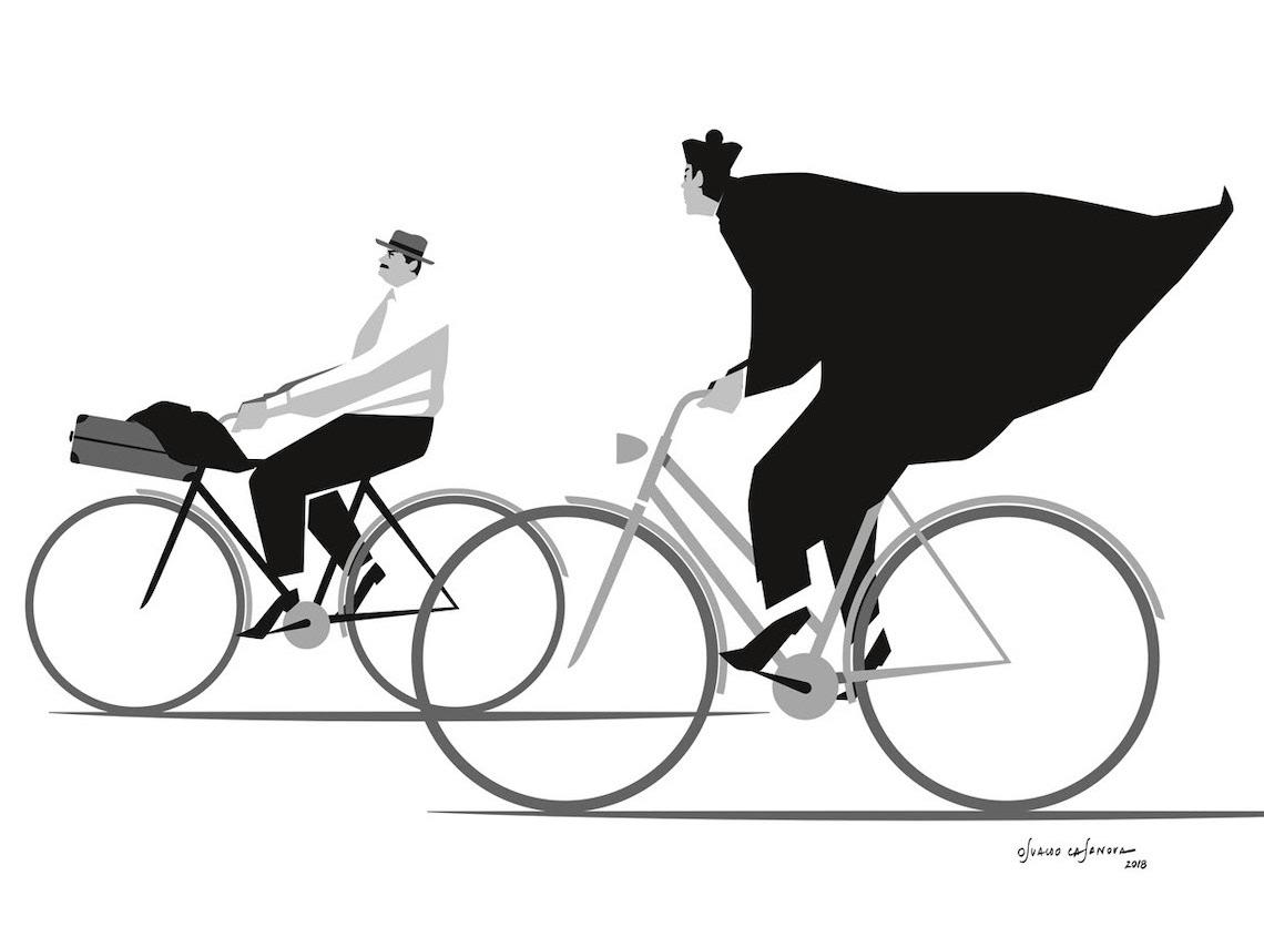 Osvaldo Casanova_illustrazioni_ciclismo_1