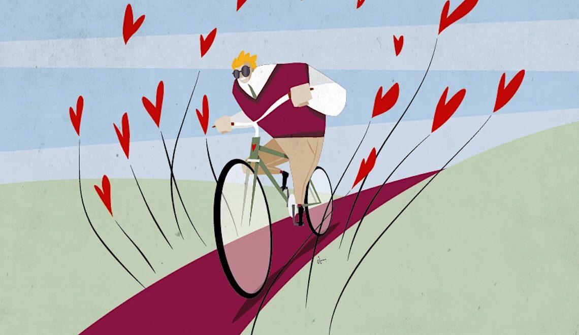 Osvaldo Casanova. Illustrazioni e ciclismo