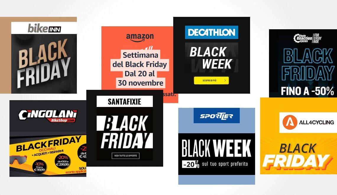 I migliori negozi online per il ciclismo. Black Friday