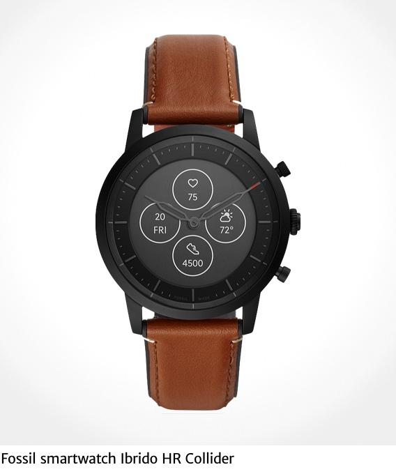 Fossil smartwatch Ibrido HR Collider_urbancycling_it_1