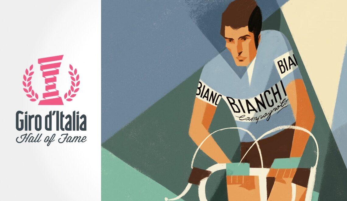 Hall of Fame Giro d'Italia. Illustrazioni di Riccardo Guasco