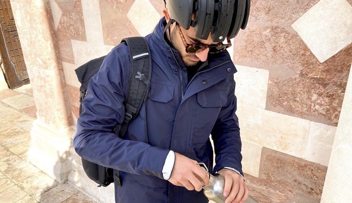 La giacca Milano. Antivento, impermeabile e traspirante