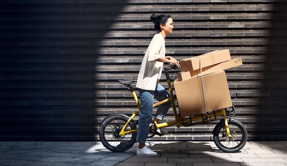 Yoonit. La mini cargo-bike è anche elettrica