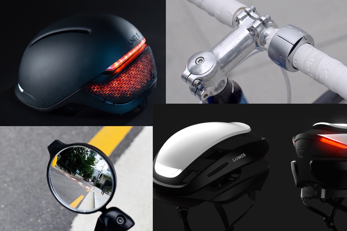 I più desiderati dai ciclisti. Faro, Lumos Ultra, Loop Mount, Corky