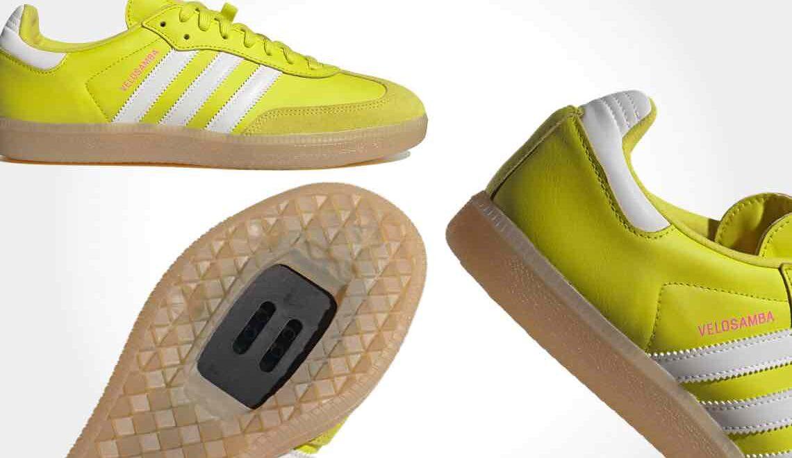 Adidas Velosamba. Le nuove scarpe per i ciclisti urbani