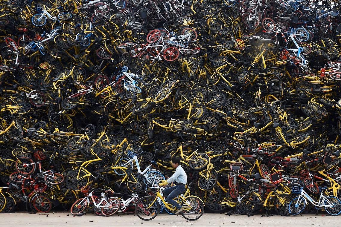 Bike sharing in Cina photography_03